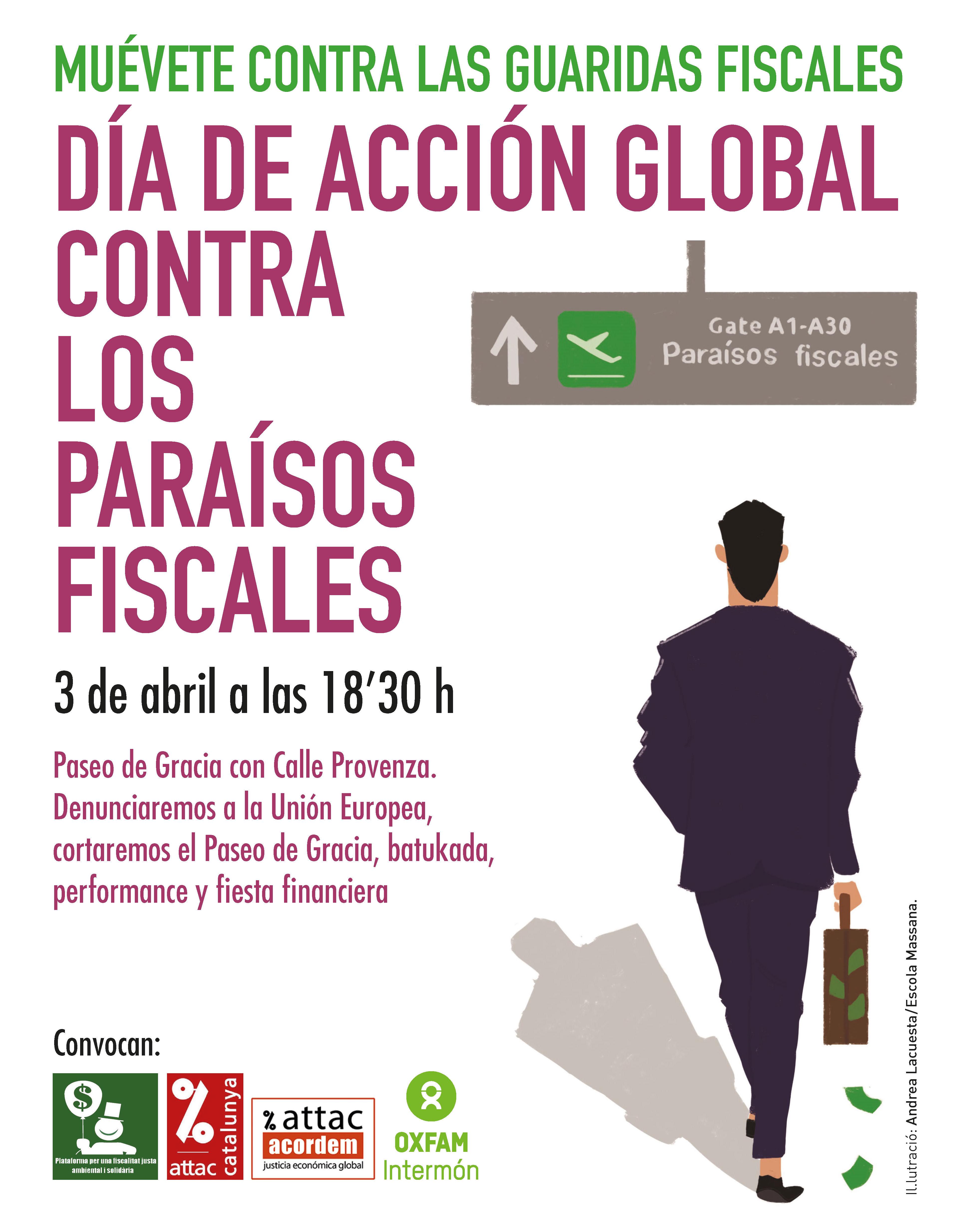 Día de acción global contra los paraísos fiscales