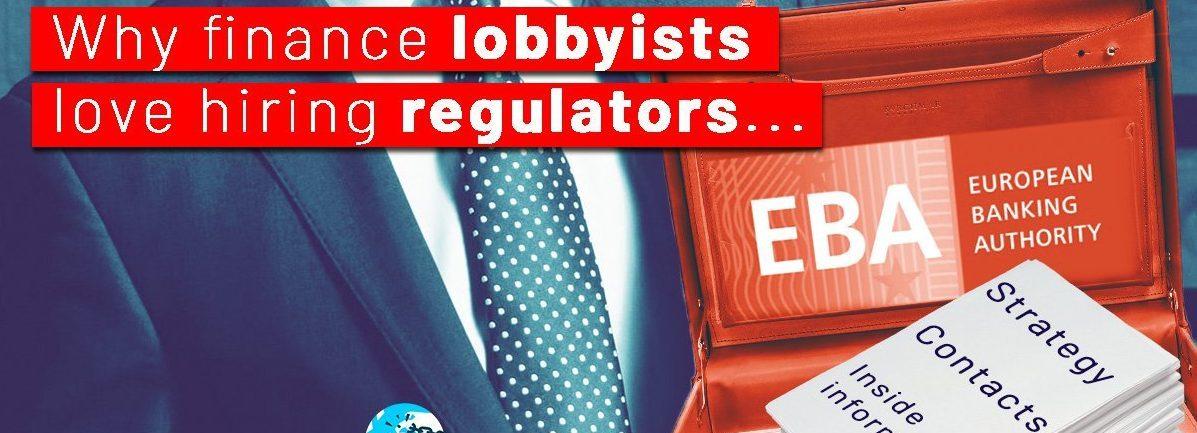 Stop a las puertas giratorias en el sistema financiero