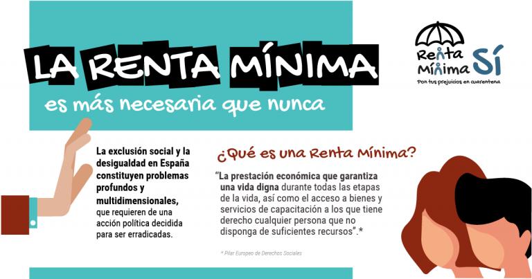 #RentaMínimaSí – #GutxienekoErrentaBai