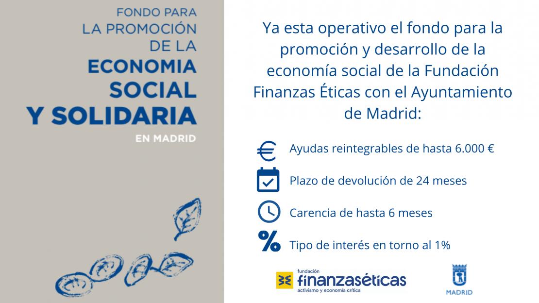 Fondo para la promoción de la ESS madrileña