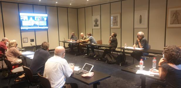Imagen reunión Patronato 17/09/2021