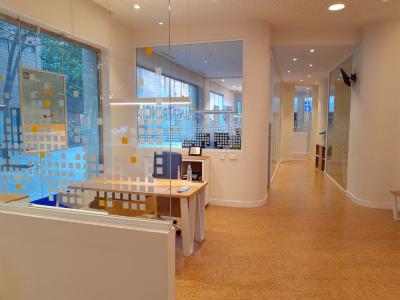 imagen de las oficinas de Fiare Banca Etica en Barcelona